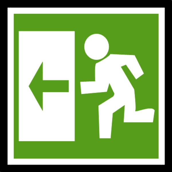 Exit Clipart-Clipartlook.com-600