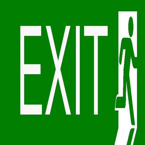 Exit Clipart logo