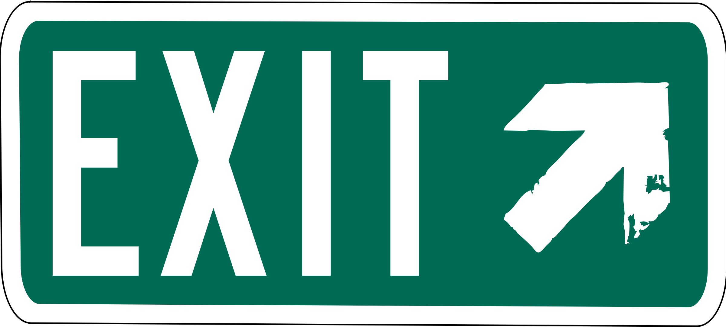 Exit Sign Clipart-Exit Sign Clipart-10