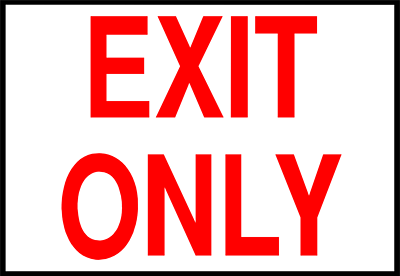 Exit Sign - Clipart Library-Exit Sign - Clipart library-11