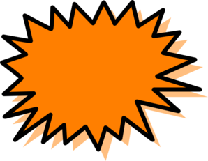 Explosion clip art free free clipart images 6