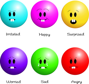 expression clipart - Emotion Faces Clip Art