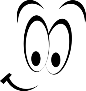 eye clipart black and white