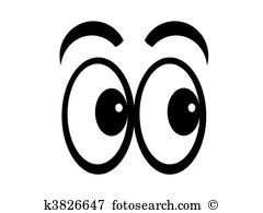 Eye Clip Art. Cartoon eyes