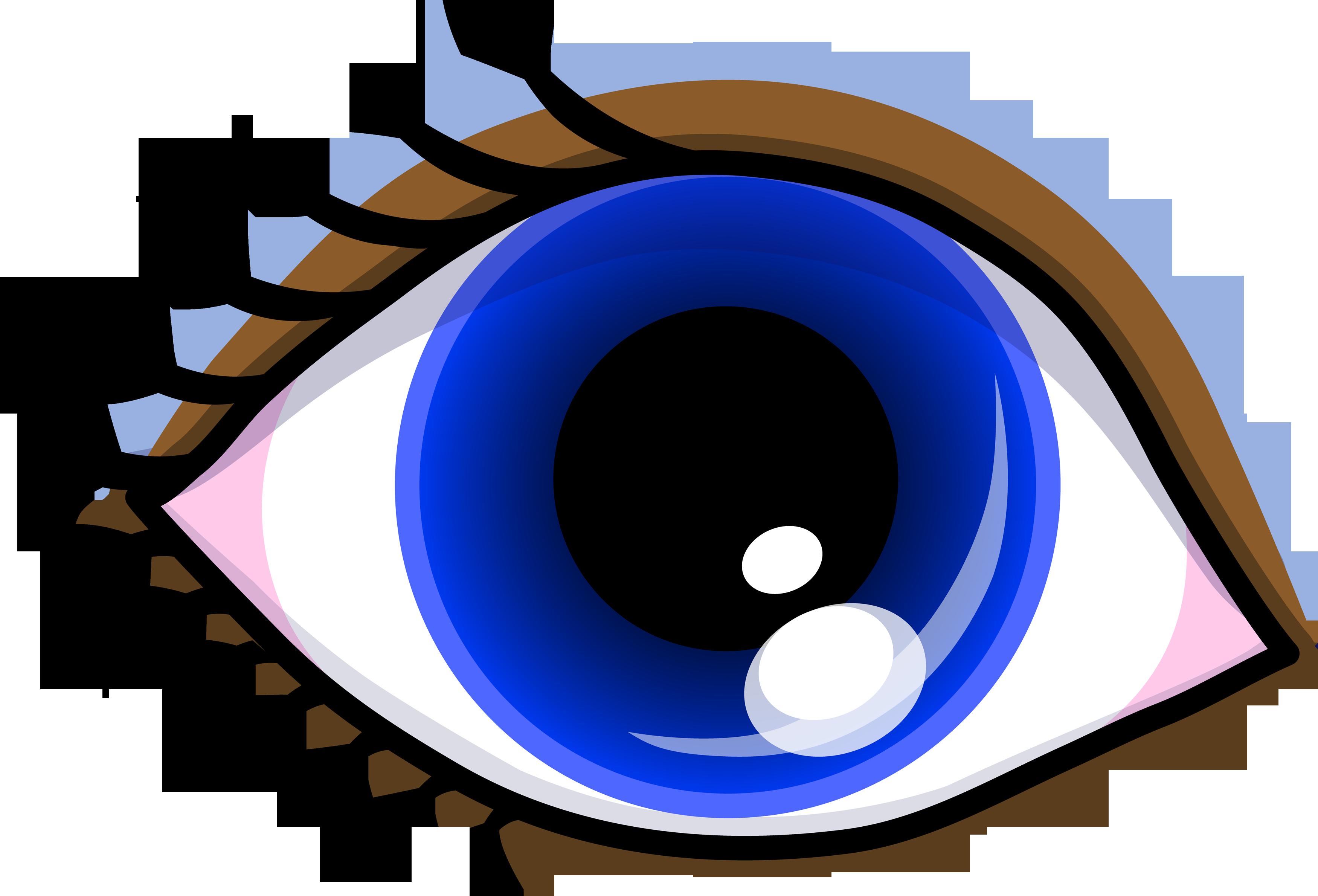 eye clipart - Blue Eyes Clipart