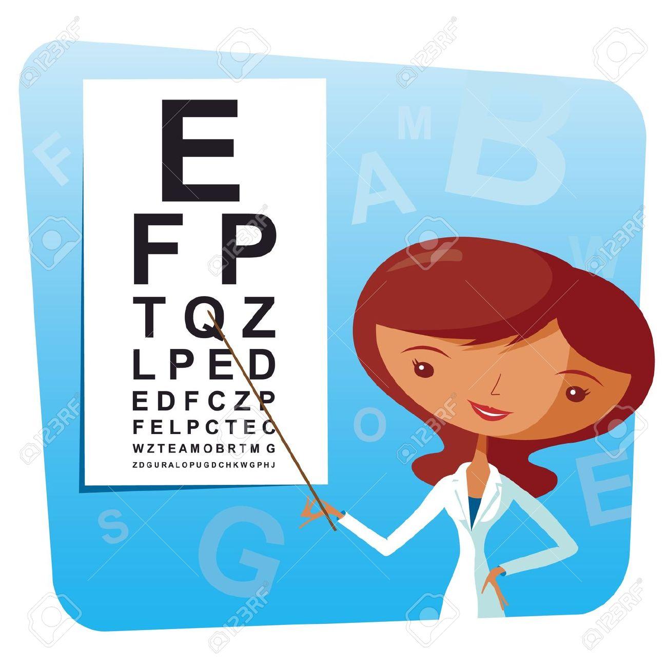 eye doctor: eye doctor