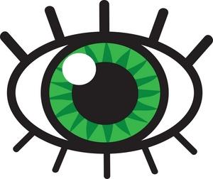 Eyeball Clipart-eyeball clipart-6