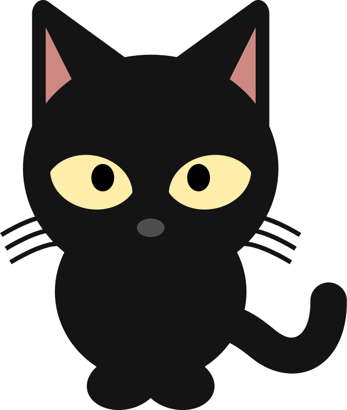 Eyes Clip Art Black Cat