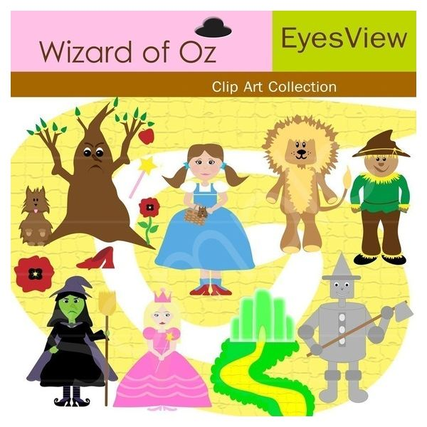 Eyesview This Digital Collection Of Wiza-eyesview This digital collection of Wizard of Oz image clip ...-4