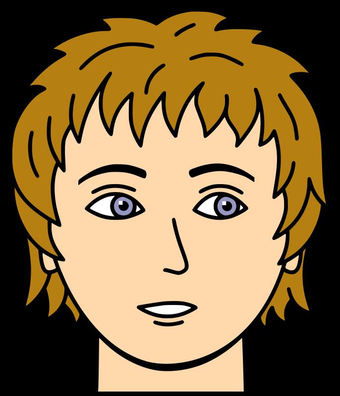 face clipart-face clipart-9