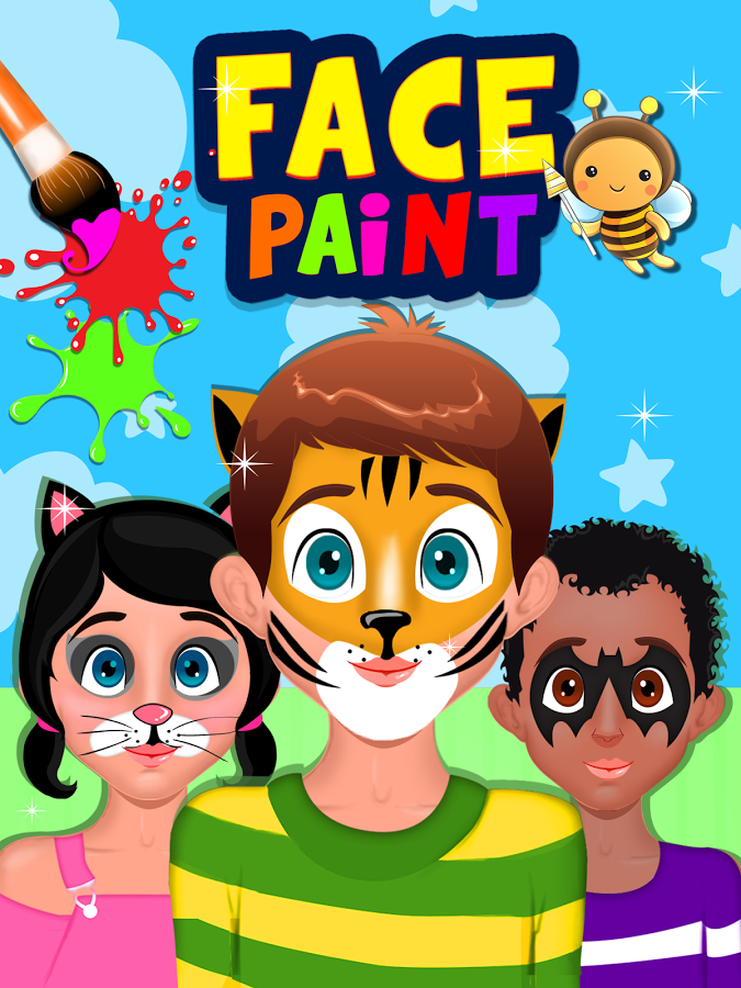 Face Painting Clipart. Face paint: Cartoon characters - YouTube. JumperCandy clipartall.com