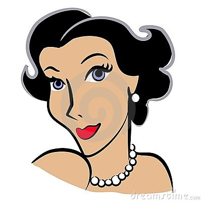 Faces Of Women Clip Art 2 Royalty Free S-Faces Of Women Clip Art 2 Royalty Free Stock Photography - Image: 2925997-12