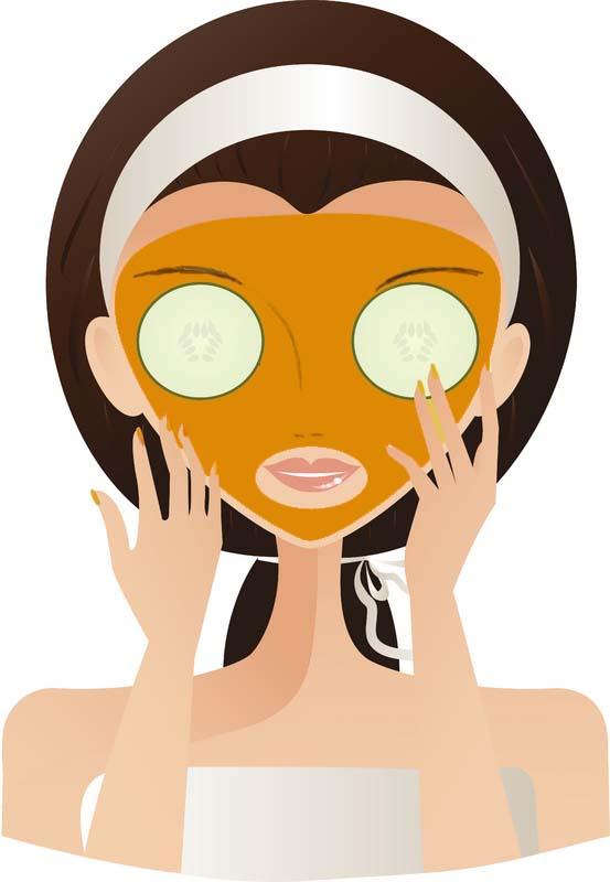 Facial Mask Clipart Makeup Be - Facial Clip Art