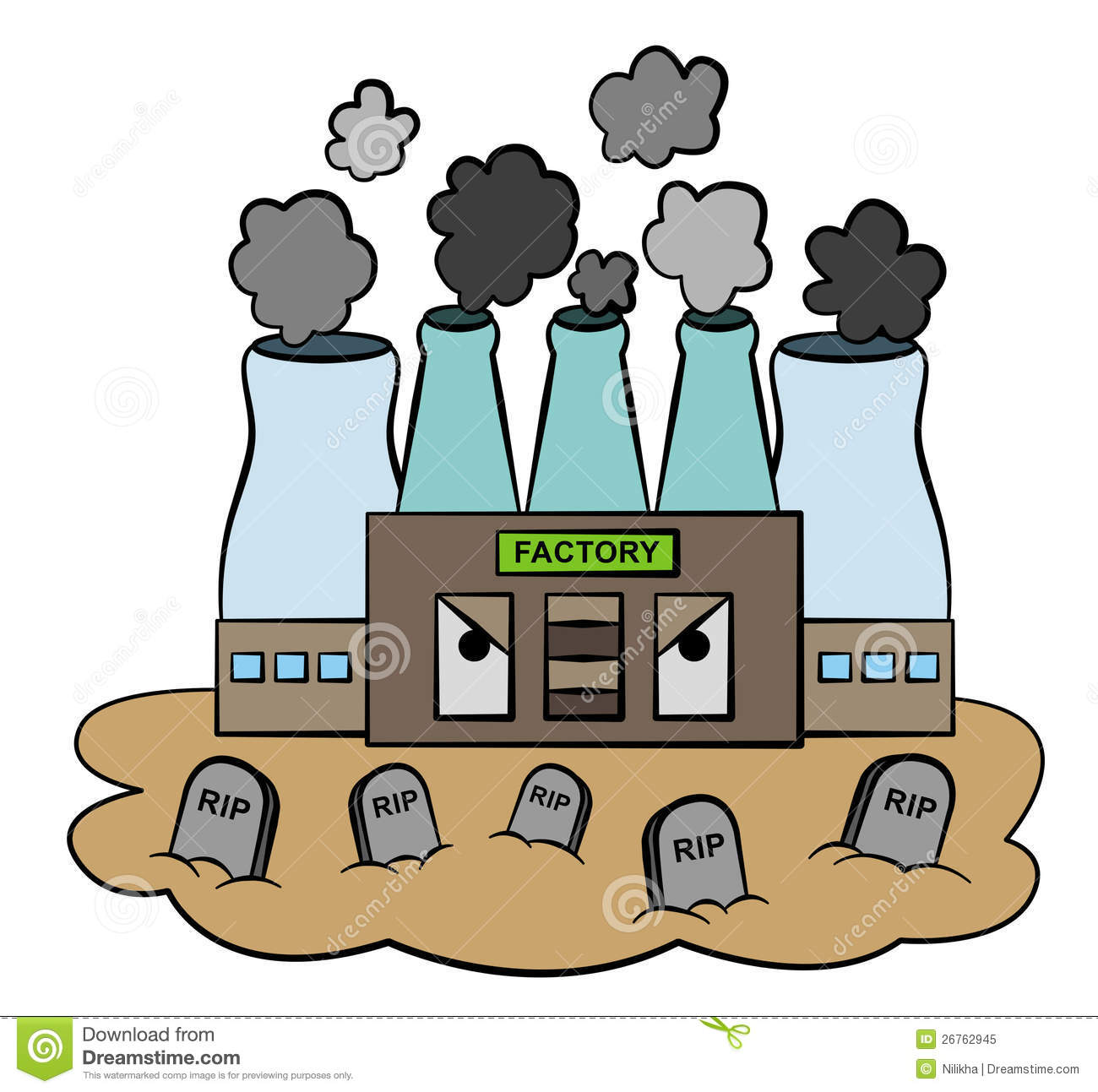 Factories Clip Art - Factories Clipart