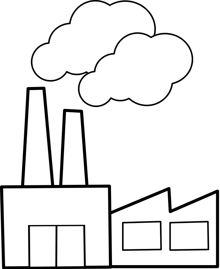 Factories Clip Art-Factories Clip Art-7