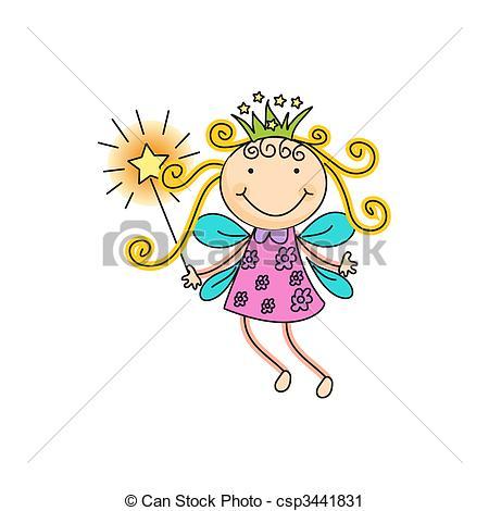 ... Fairy - A Beautiful Vector Illustrat-... fairy - a beautiful vector illustration of a fairy with... fairy Clipartby ...-4