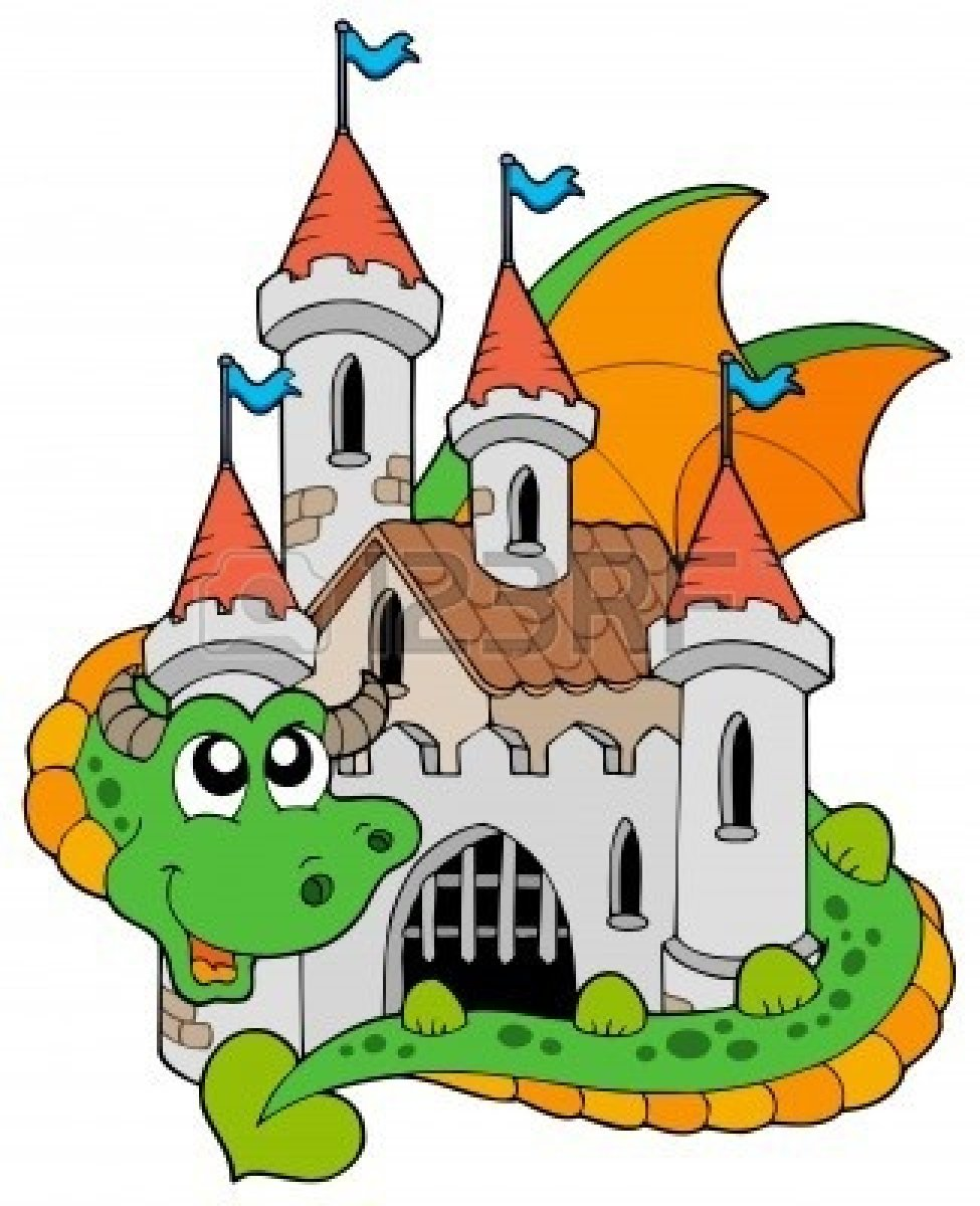 Fairy Tale Castle Clip Art Cl - Fairy Tale Clip Art