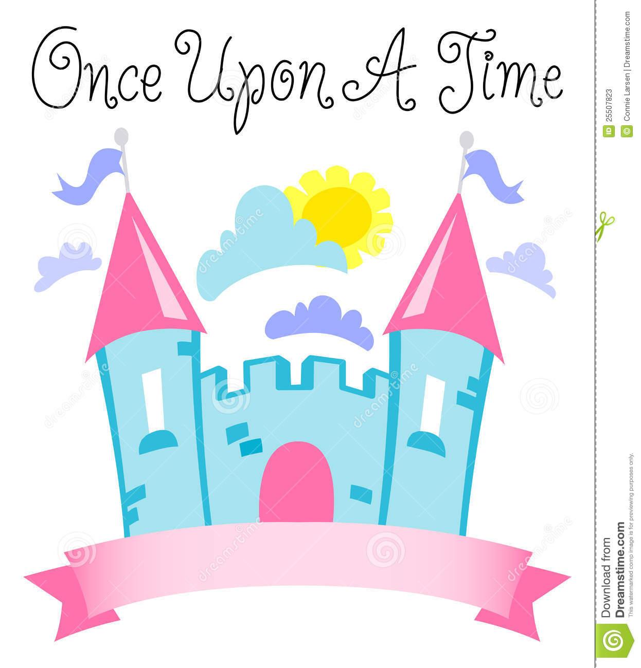 Fairy Tale Castle Clipart Time Fairytale Castle Eps