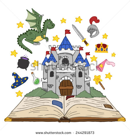Fairy Tale Castle Clipart Tim - Fairy Tale Clip Art