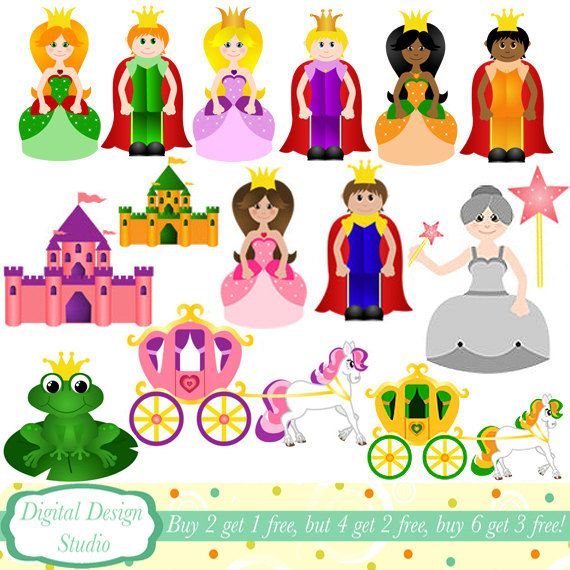fairy tale clip art   Request a custom order and have something made just for you