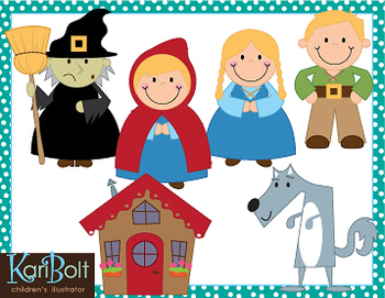 Fairy Tale Teachers Clipart #1