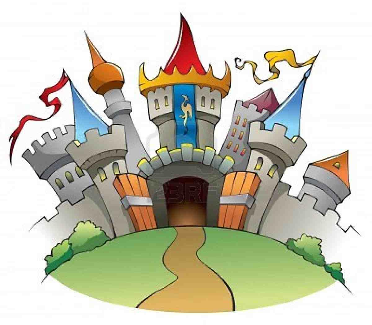 fairytale castle clipart