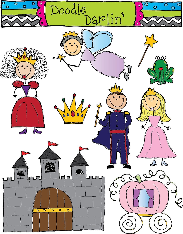 Fairytale Clipart - Fairy Tale Clip Art