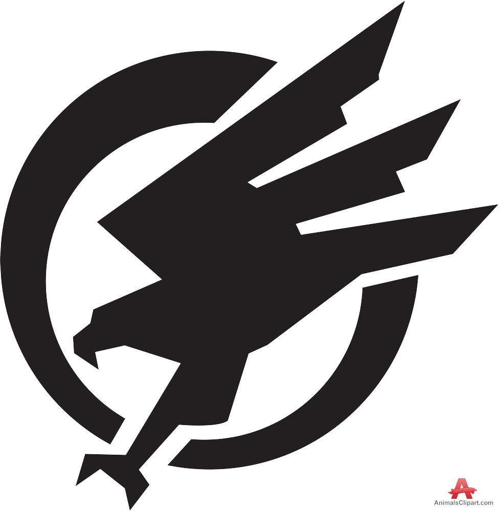 Falcons logo clip art clipartall