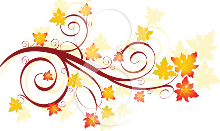 Fall Leaves Border Clipart-fall leaves border clipart-7