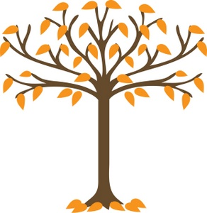 fall tree clipart black and white-fall tree clipart black and white-10