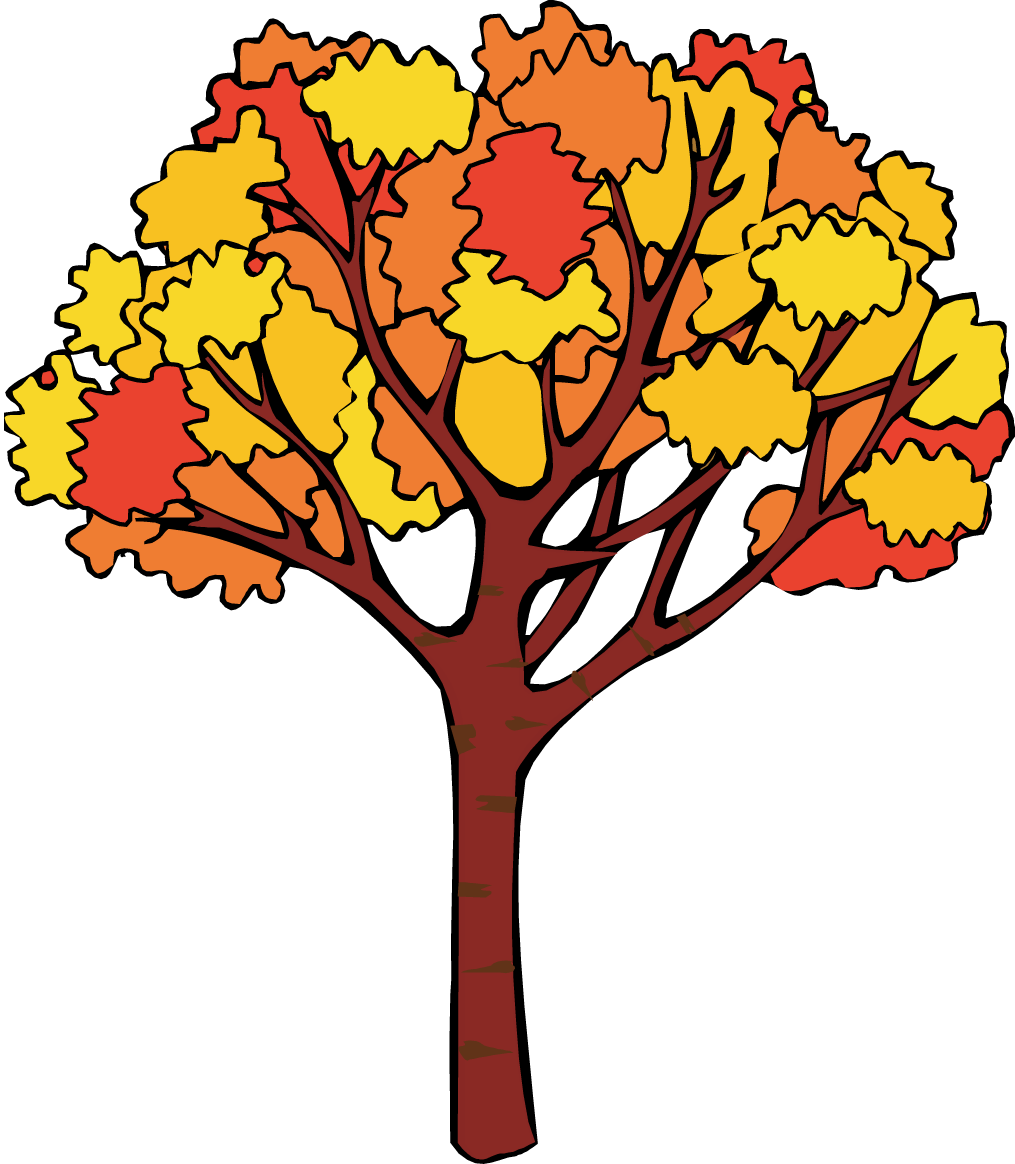 fall tree clipart