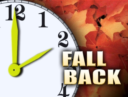 Fall Back Card Wallpaper Of Daylight Saving Time