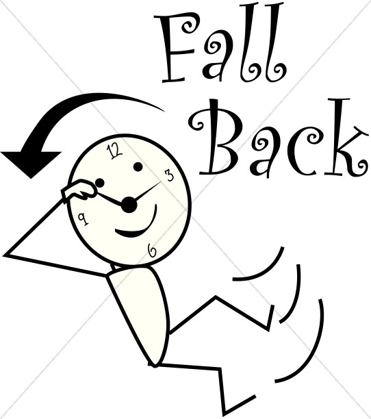 Fall Back Daylight Savings Stick Figure-Fall Back Daylight Savings Stick Figure-9