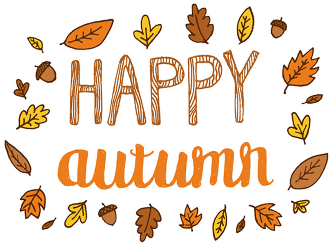 Fall Begins Clipart #1. Happy Autumn First Day of Fall .