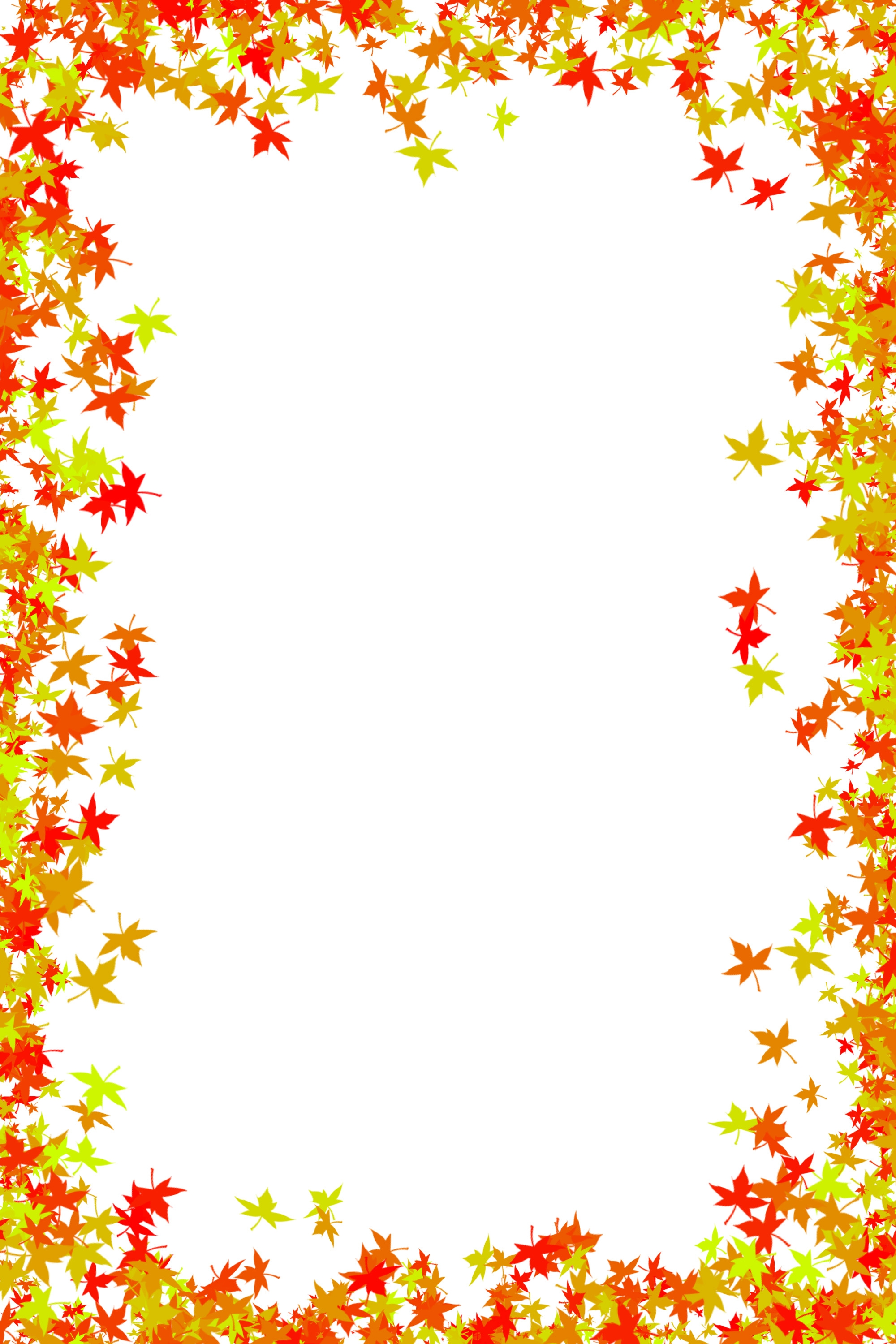 Fall Border Clipart Free
