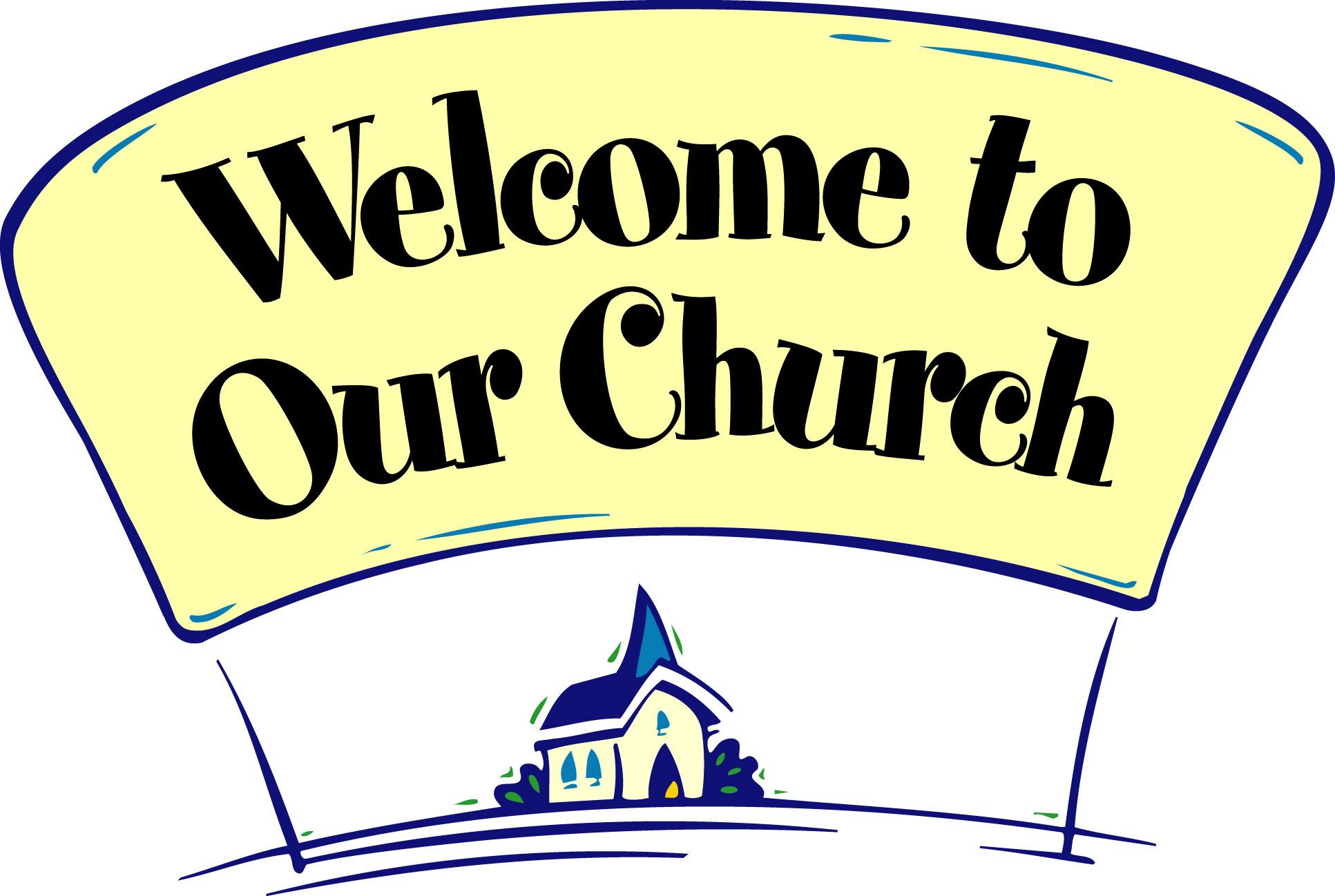 Fall church welcome clipart
