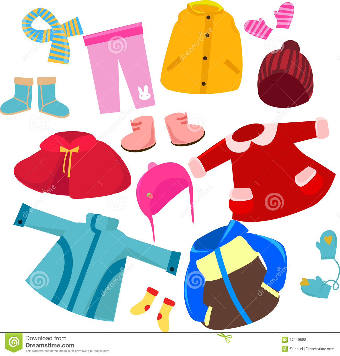 Fall Clothes Clip Art Clothes Set-Fall Clothes Clip Art Clothes Set-14