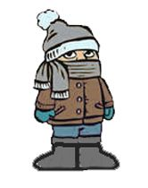 Fall Clothing Drive Clip Art | Cool Weather Clip Art