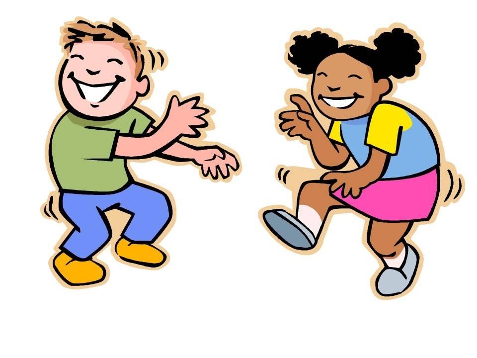 Fall Dance Clipart; Kids .