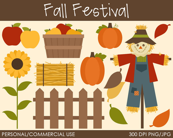 Fall Festival Clipart Digital Clip Art Graphics For Personal Or