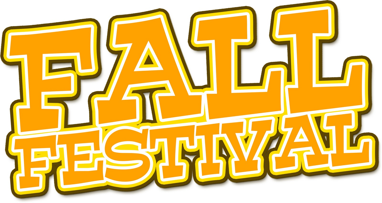 Fall festival community festival clipart