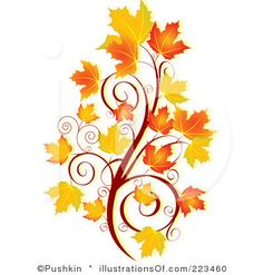 Fall Flowers Clip Art ..