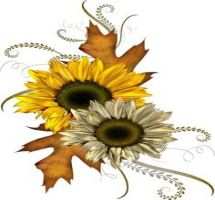 Fall Flowers Clipart Free
