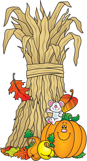 Fall Harvest Clipart #1