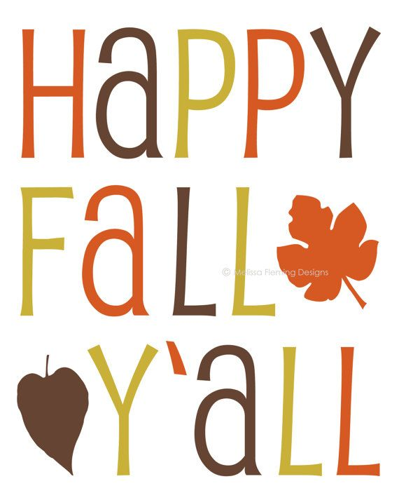 Fall Is Here Clip Art