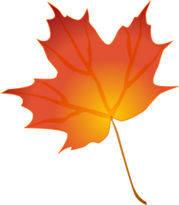 Fall Leaves Border Clipart .