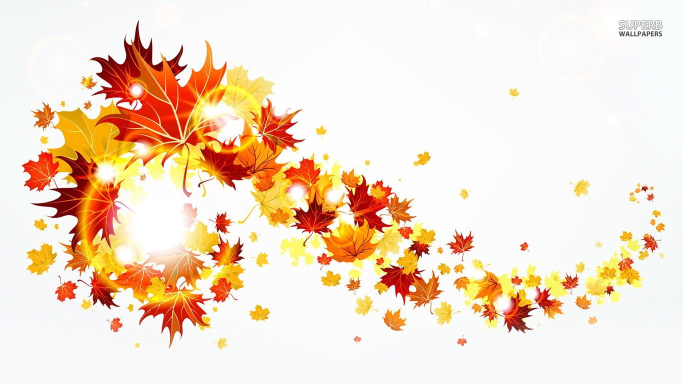 Fall Leaves Border Clipart-Fall Leaves Border Clipart-9
