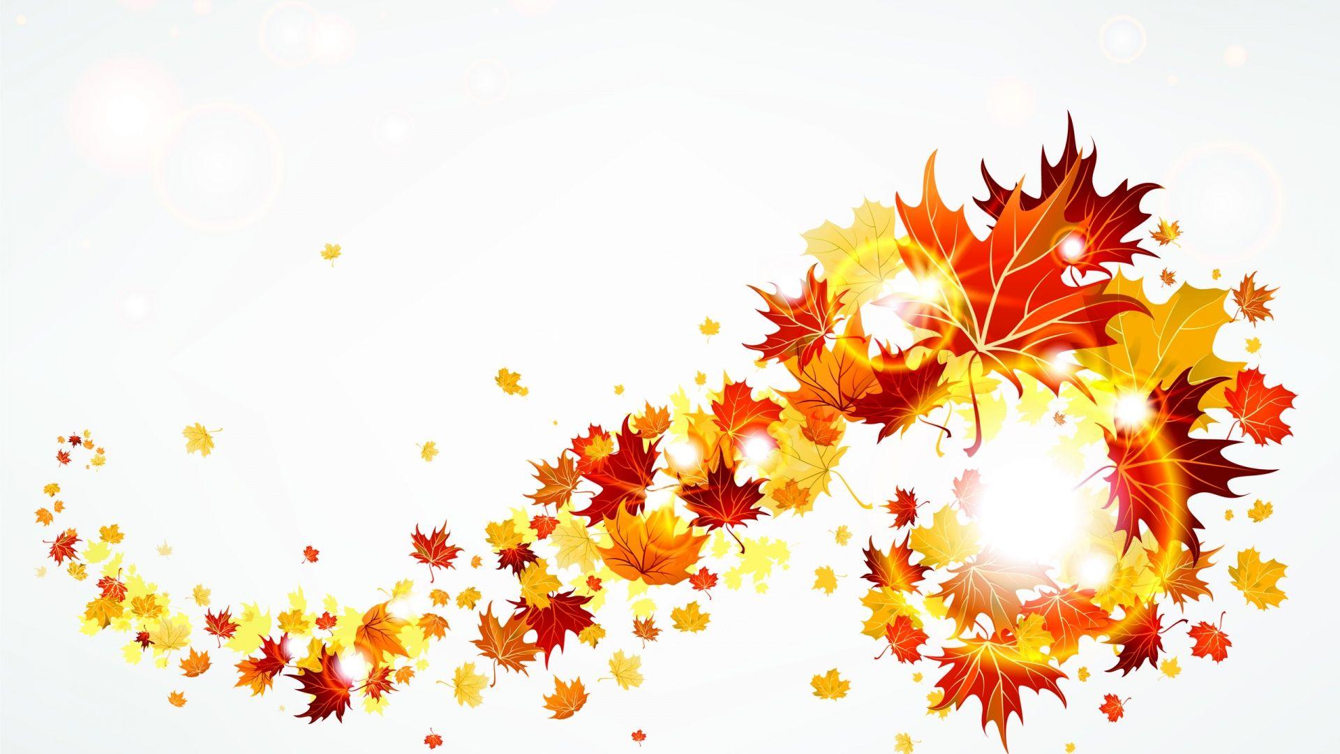 Fall Leaves Clip Art Autumn .-Fall leaves clip art autumn .-10