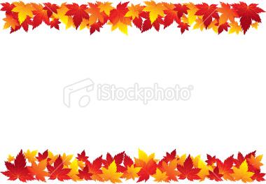 Fall Leaves Clip Art Border ... leaves borders Gallery