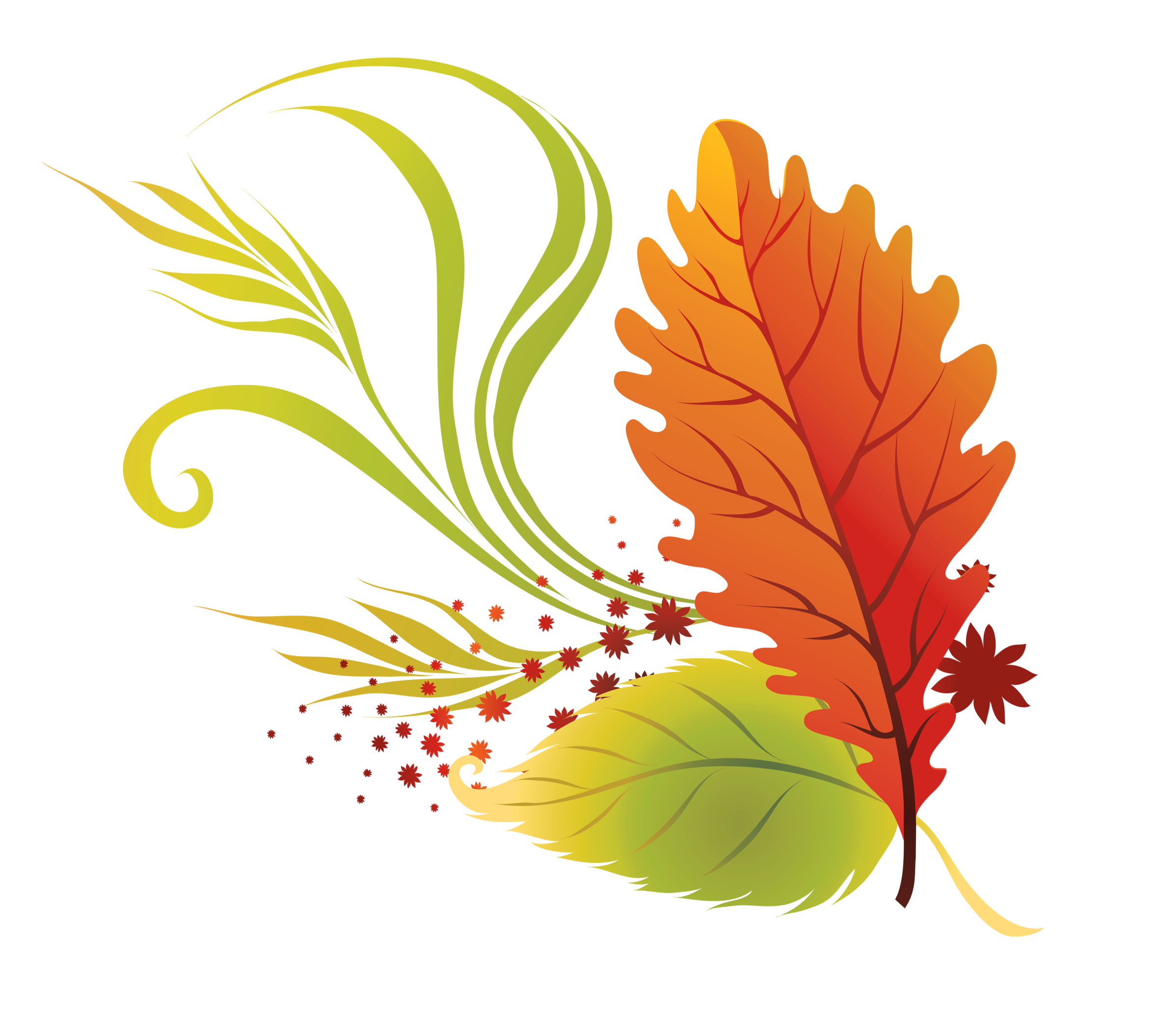 fall leaves clipart .
